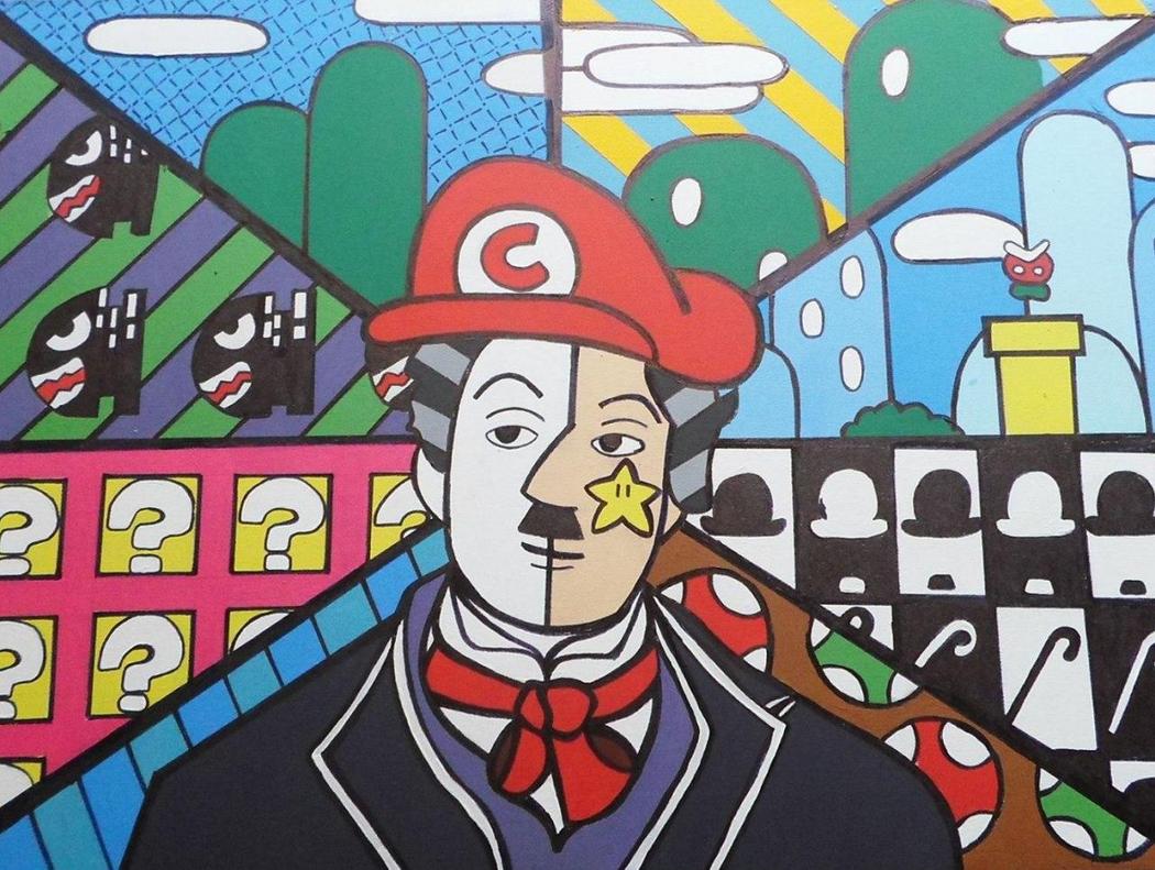 Фанарт неизвестного автора был нарисован задолго до выхода Luigi's Mansion 3