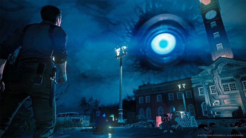 В обеих The Evil Within пространство искривляется по воле демиургов-психопатов-это более явный синоним того, что происходит с пространством в Silent Hill.