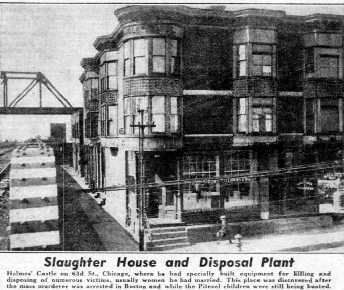 В ноябре 1894 года замок Холмса получил заслуженную рекламу — его отель был в каждой газете