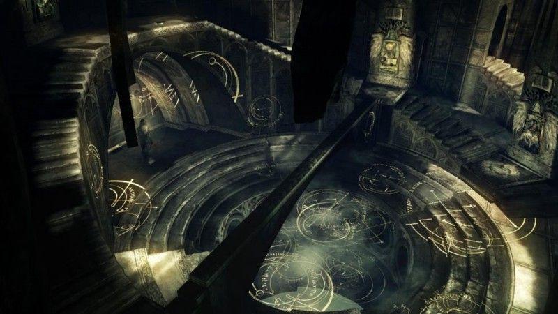 Nexus из Demon's Souls-«особое место», куда нельзя дойти пешком.