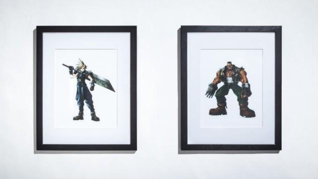 Два главных героя Final Fantasy 7, Клауд (слева) и Баррет (справа), после выпуска игры вызвали небольшую полемику. | Фотограф: Джонатан Кастильо.