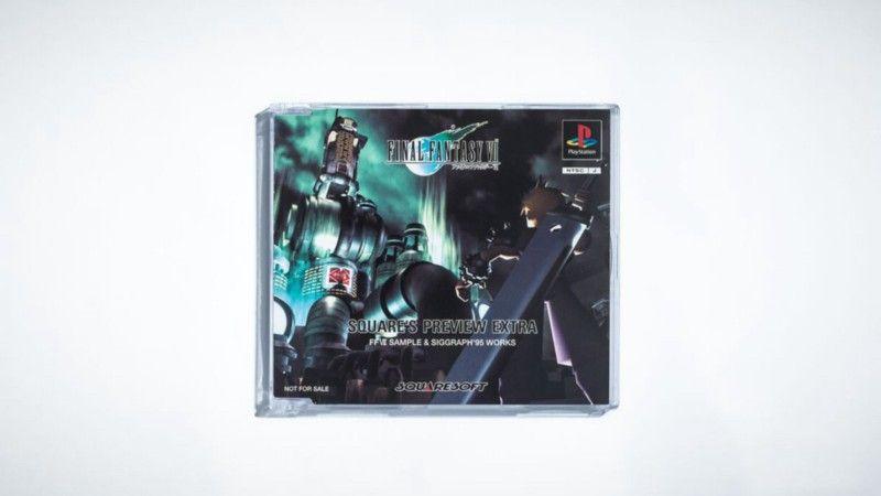 После демонстрации Final Fantasy 6: The Interactive CG Game на конференции Siggraph в Лос-Анджелесе Square записала ее и распространила среди игроков на этом диске на Tokyo Game Show 1996 года. | Фотограф: Джонатан Кастильо.