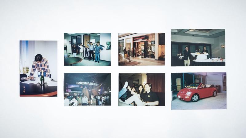 Для этого сюжета бывшая сотрудница Square по маркетингу Киоко Хиго предоставила серию фотографий 1997 года, на которых изображена команда Square US. Фотограф: Джонатан Кастильо; авторские права на материалы: Киоко Хиго