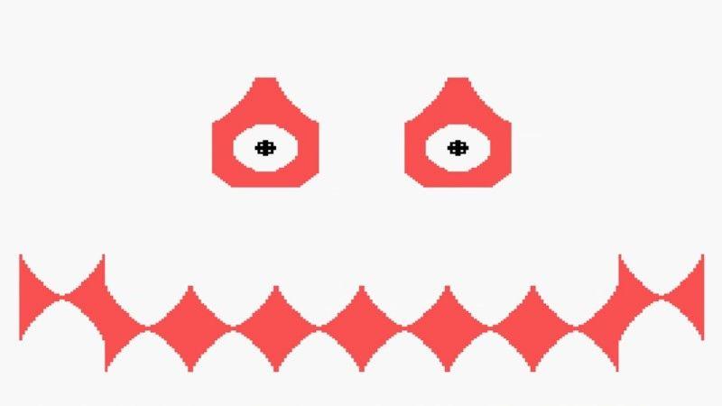 Так выглядит Вампус в одной из версий игры.