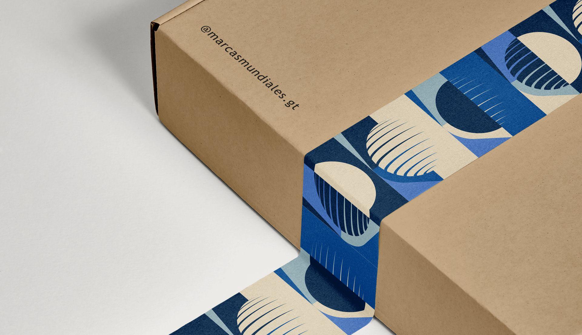 Pattern design for corporate brand identity