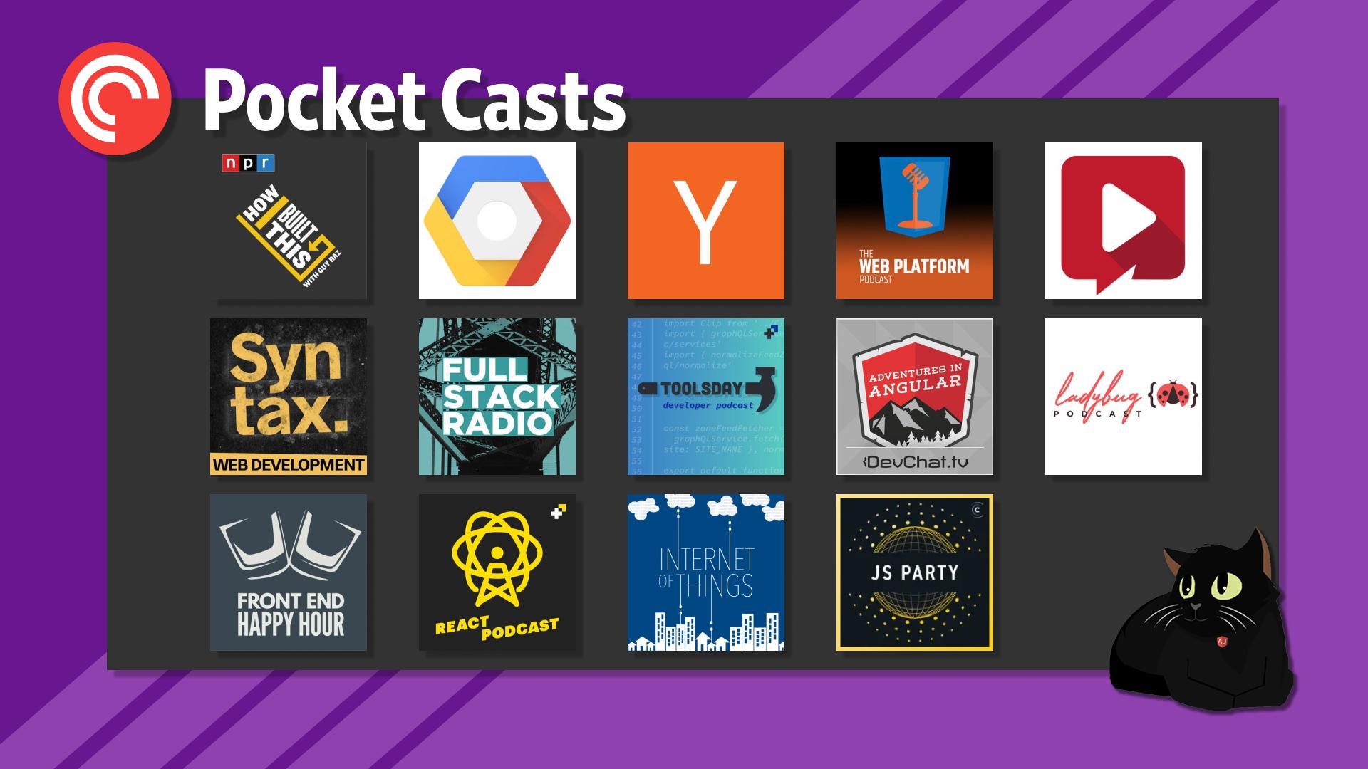 Pocket Casts Web Development Podcasts