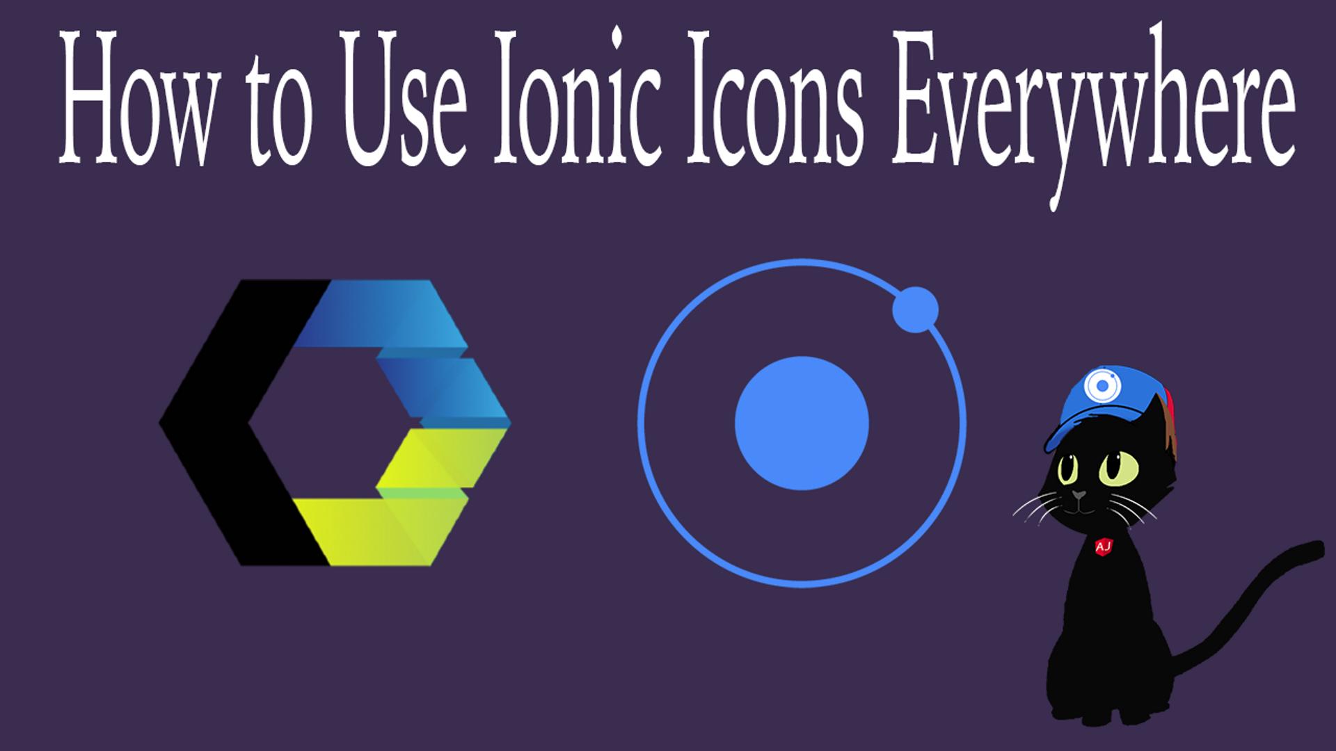 Ionic Icons