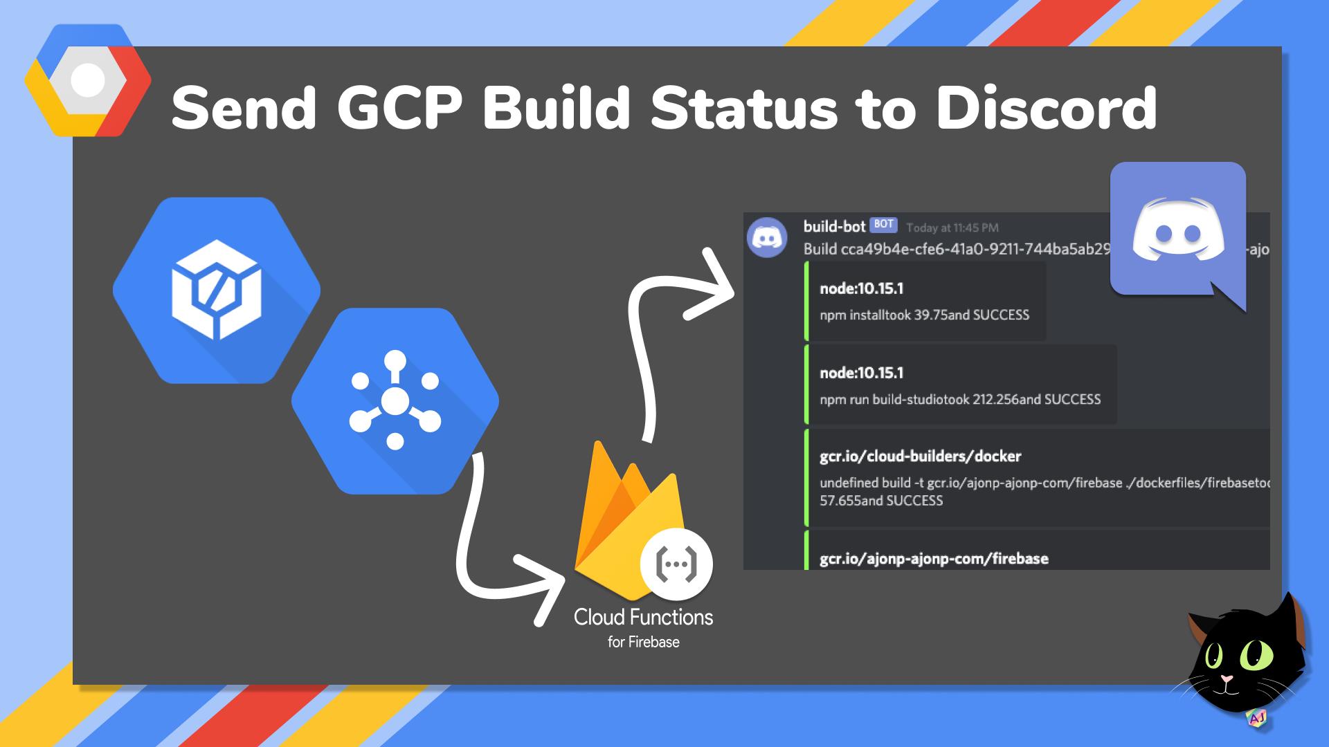 Send GCP Build Status to Discord