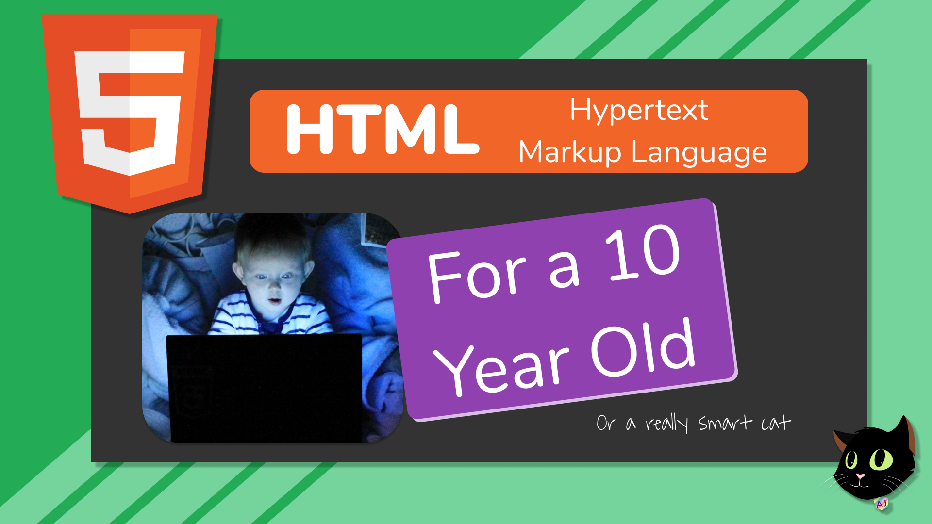 HTML for a 10 Year Old
