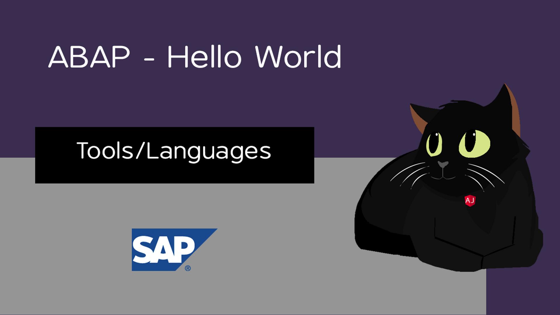 ABAP - Hello World