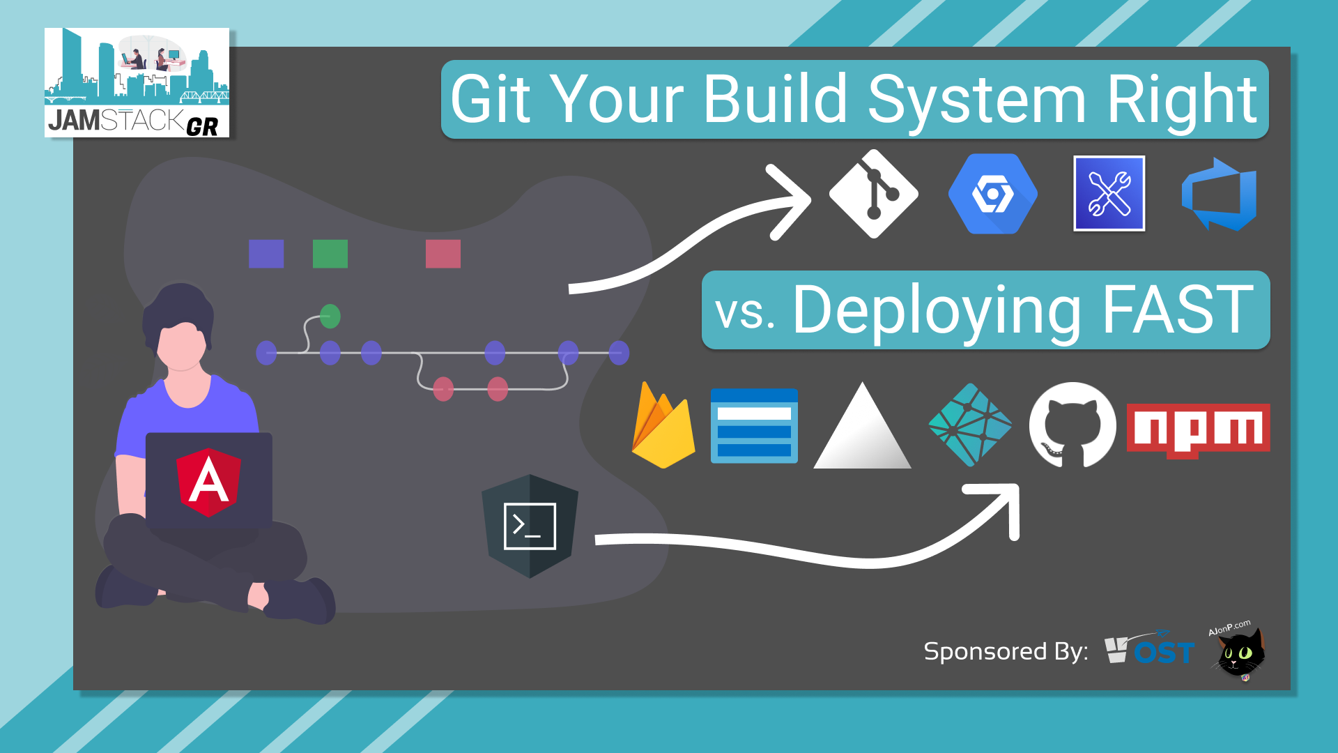 JAMStackGR Git Your Build System Right vs. Deploying Fast