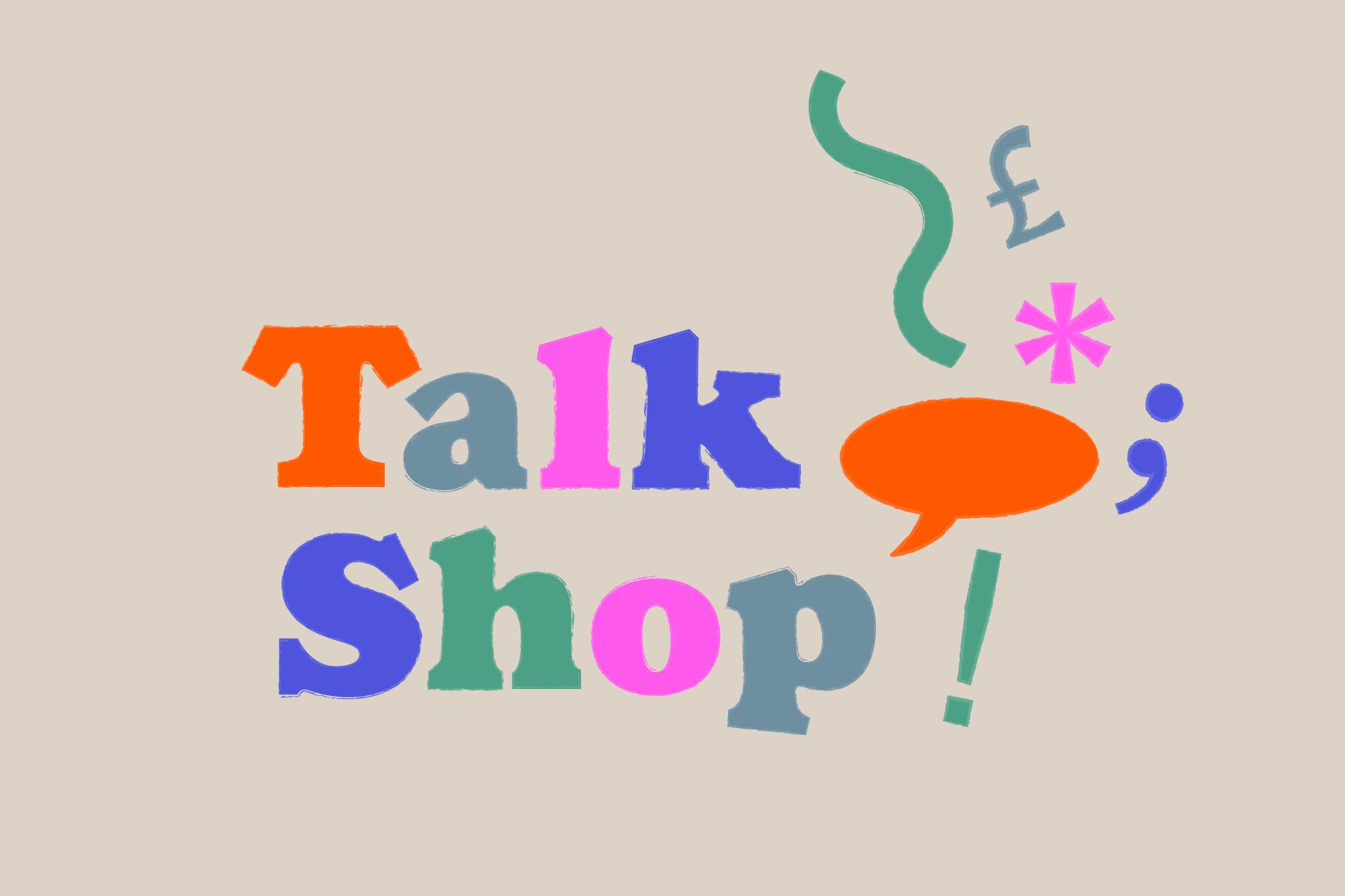 Talk Shop Cover Image
