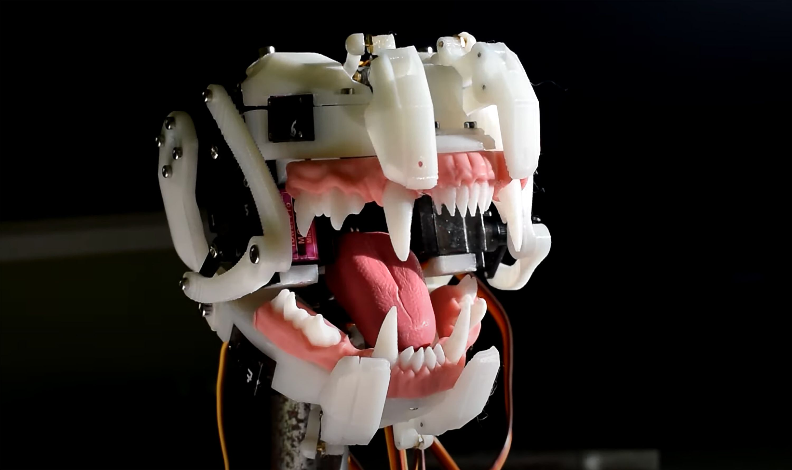 Actuated Jaw by Will Cogley