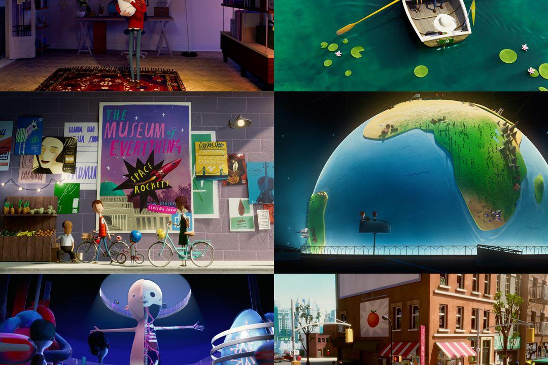 Selection of works by Studio AKA