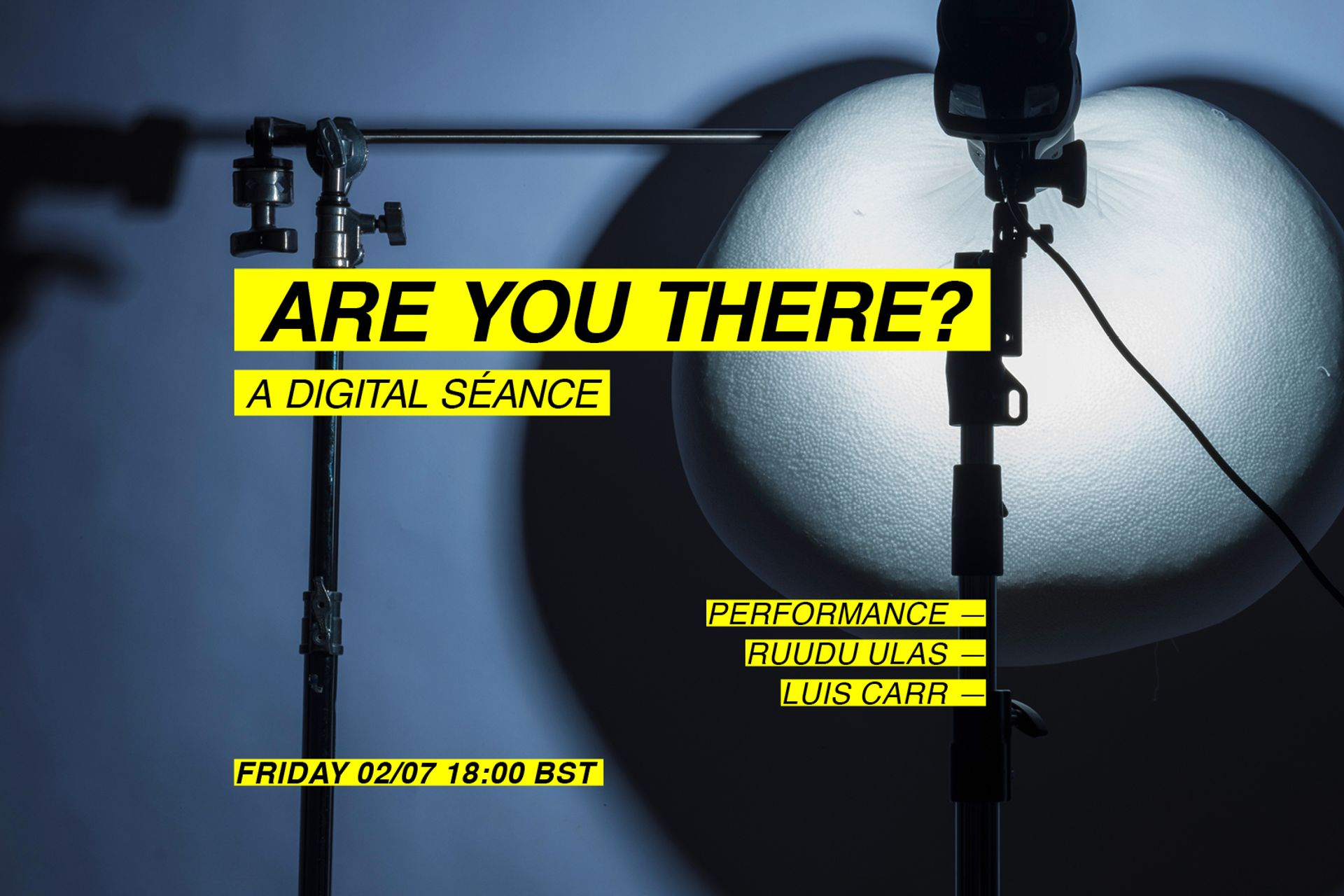 Are you there? (Performance)-image