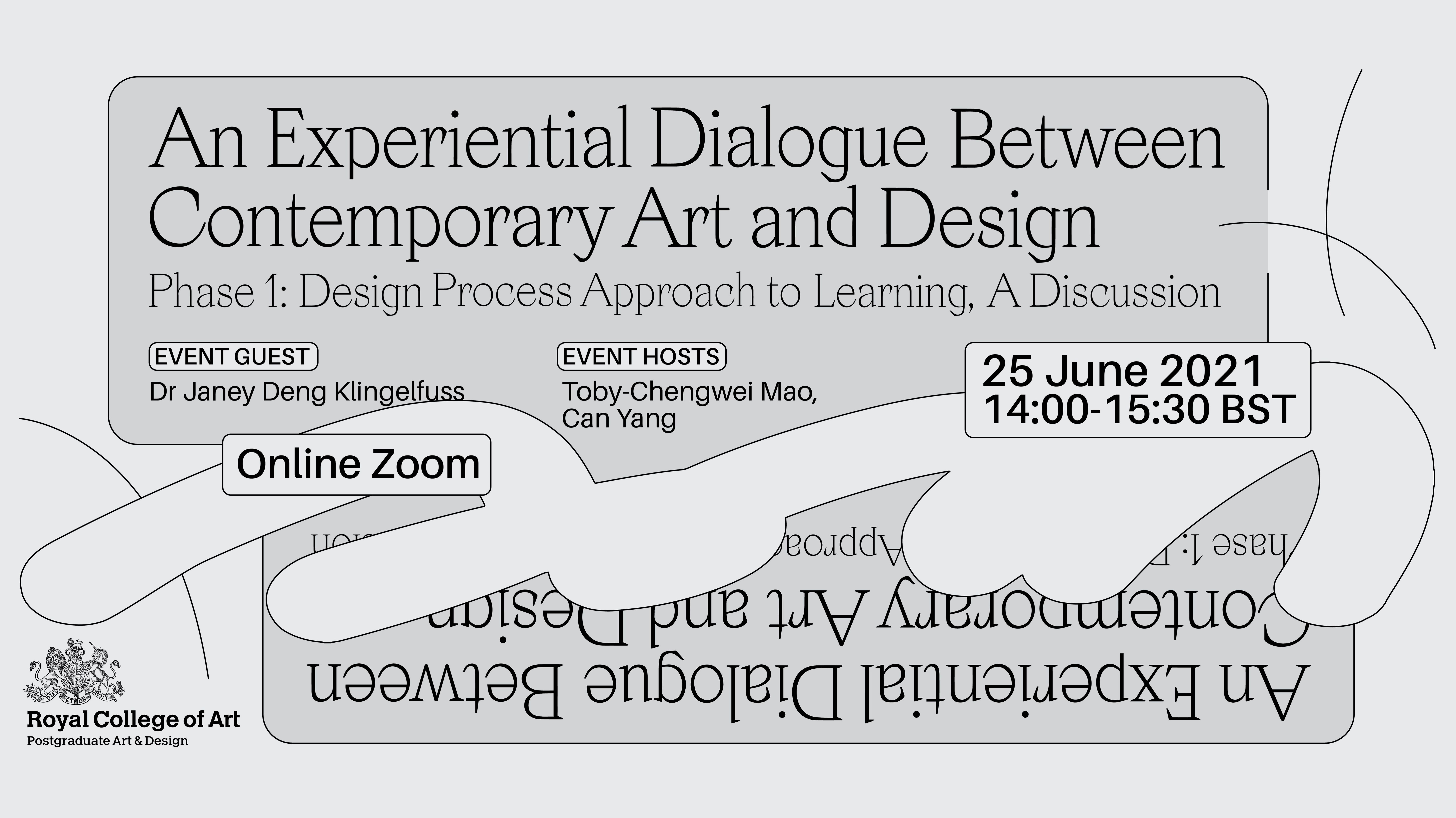 An experiential dialogue between contemporary art and design cover