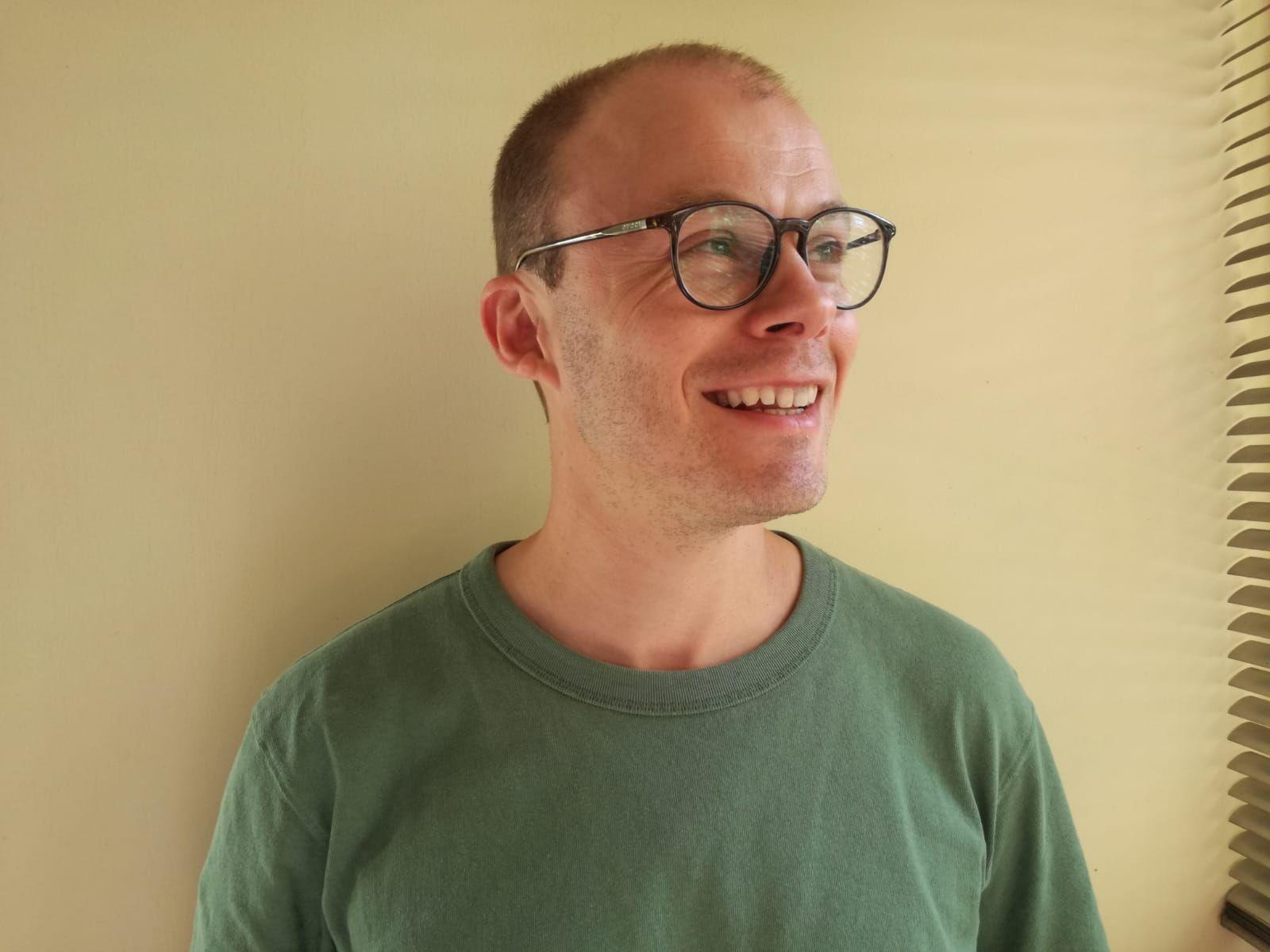 Portrait of Tim Dixon