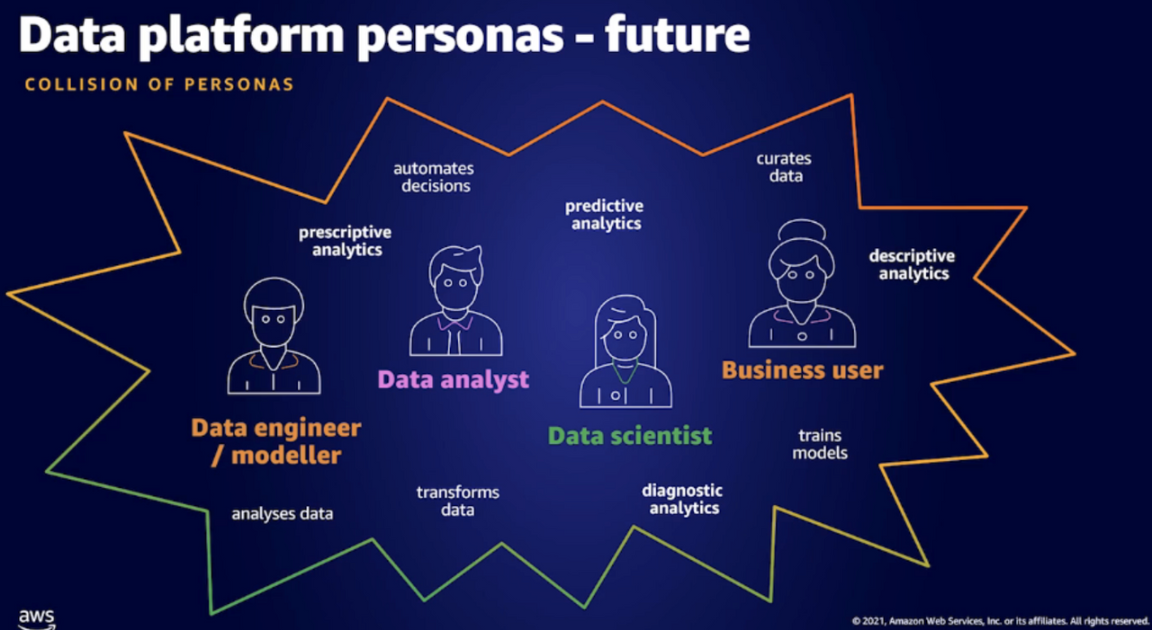 Data platform personas