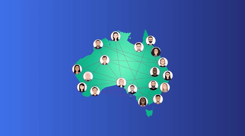 Talent Map of Australia