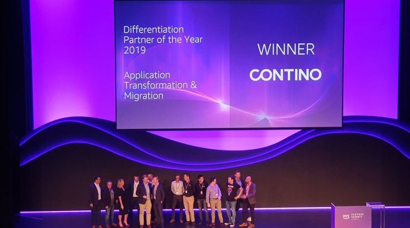 Contino Scoops Up Two 'Partner of the Year' Awards at AWS Summit Sydney!