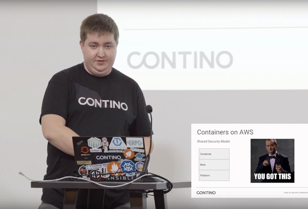 Securing Containers on AWS with Marcus Maxwell, DevOps Practitioner