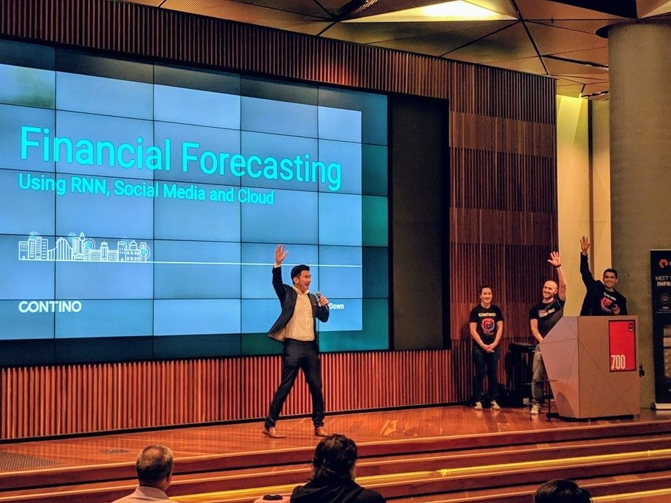 Building a Stock Forecast Application in 2 Weeks Using Serverless AI and Responsive Design