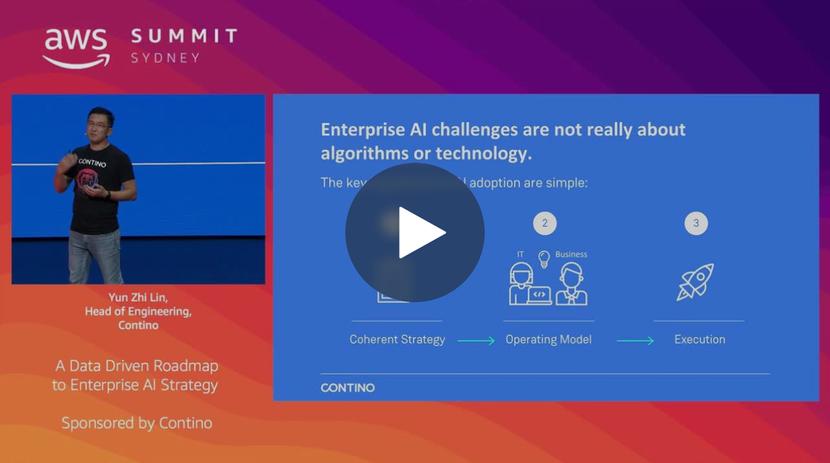 AWS Summit Sydney 2019: A Data Driven Roadmap to Enterprise AI Strategy