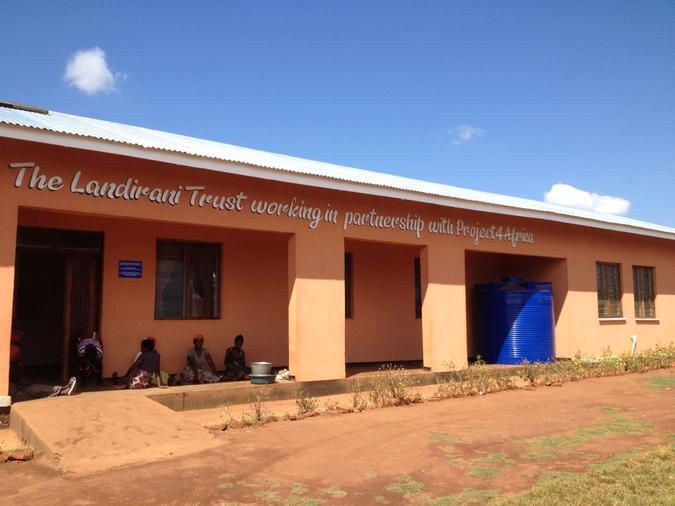 The completed Maternity Unit