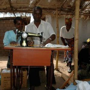Help them earn a living through a microloan to set up a business