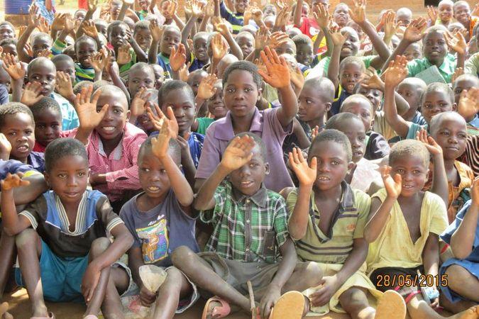 School Children at Chitedze