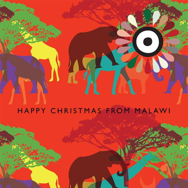 Christmas Cards pack of 5 cards, design by Erik Boaru
