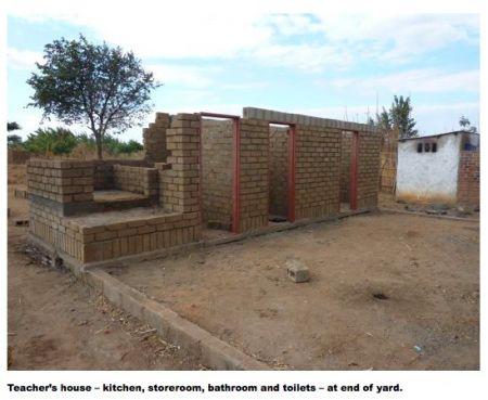 Building Namanyanga School