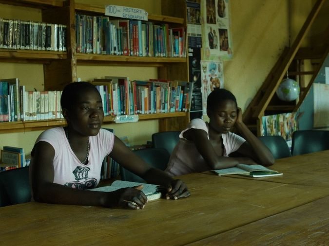 Violet and Prisca Chaza