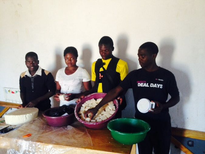Tapping Potential borehole committee making soaps
