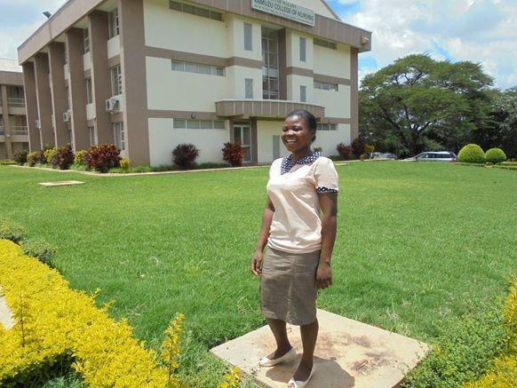 Lobiner Kantenga at the KCN Lilongwe campus