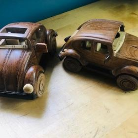 Wooden Beetle Car