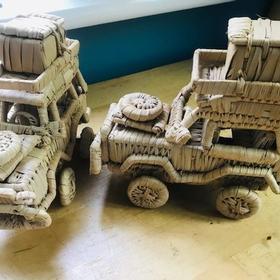 Grass jeep