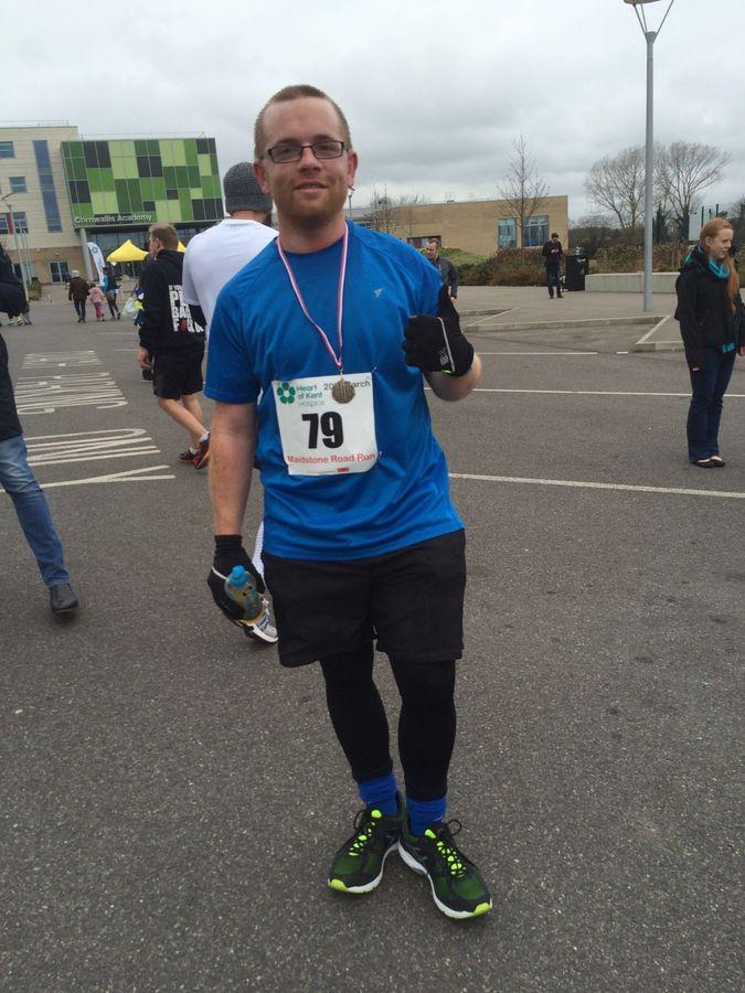 Shaughan Hawks, our London Marathon runner