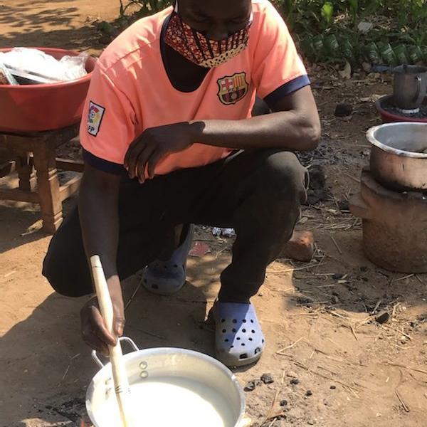 Individual soaps, made at Sam's Village in Malawi