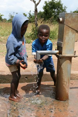 We would like to put in boreholes in all the villages we serve, where it is possible.