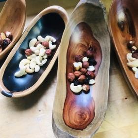 Wooden Carved Bowl