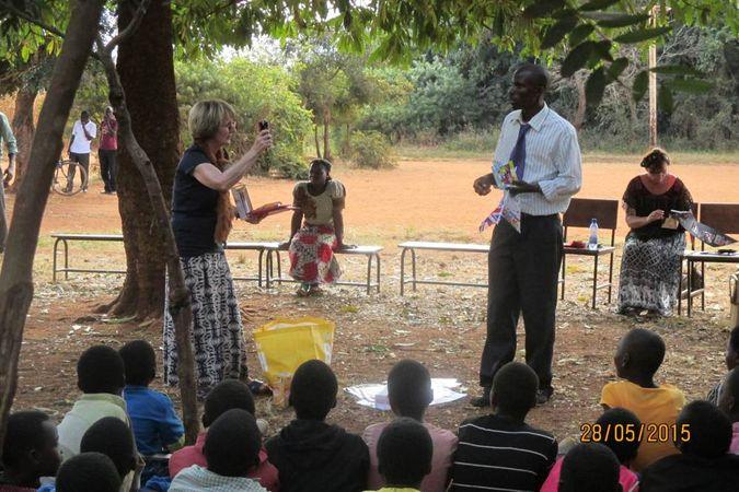 Update presentation at M'bang'ombe