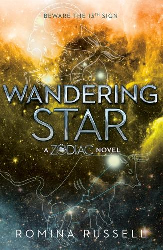 cover of book 2 of the zodiac series wandering star