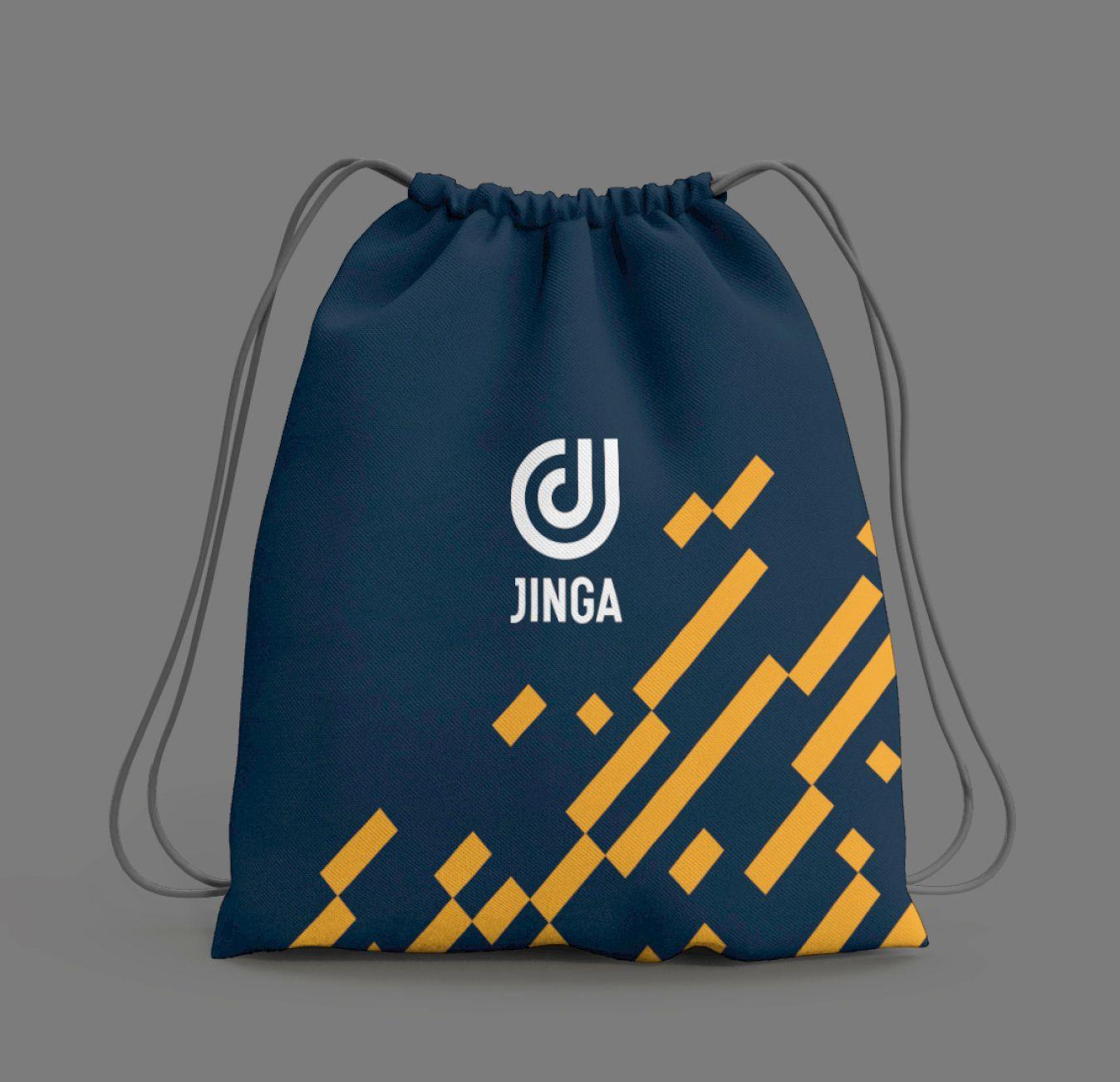 Jinga branded bag
