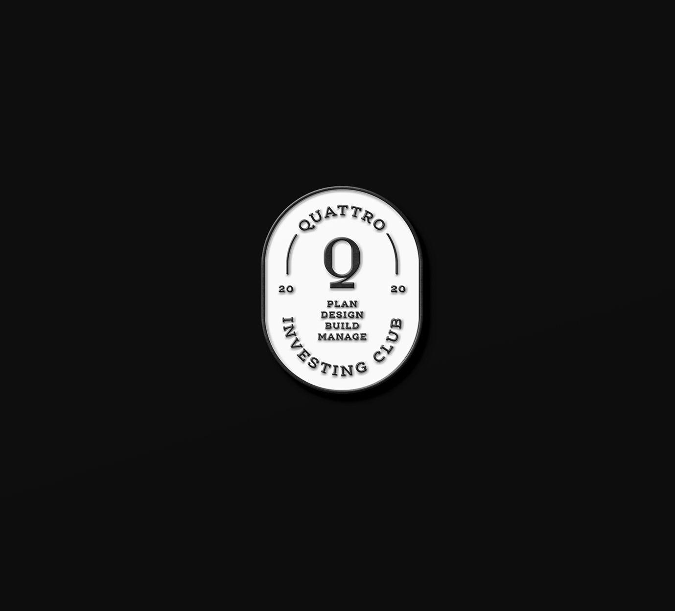 Quattro Investing Club pin