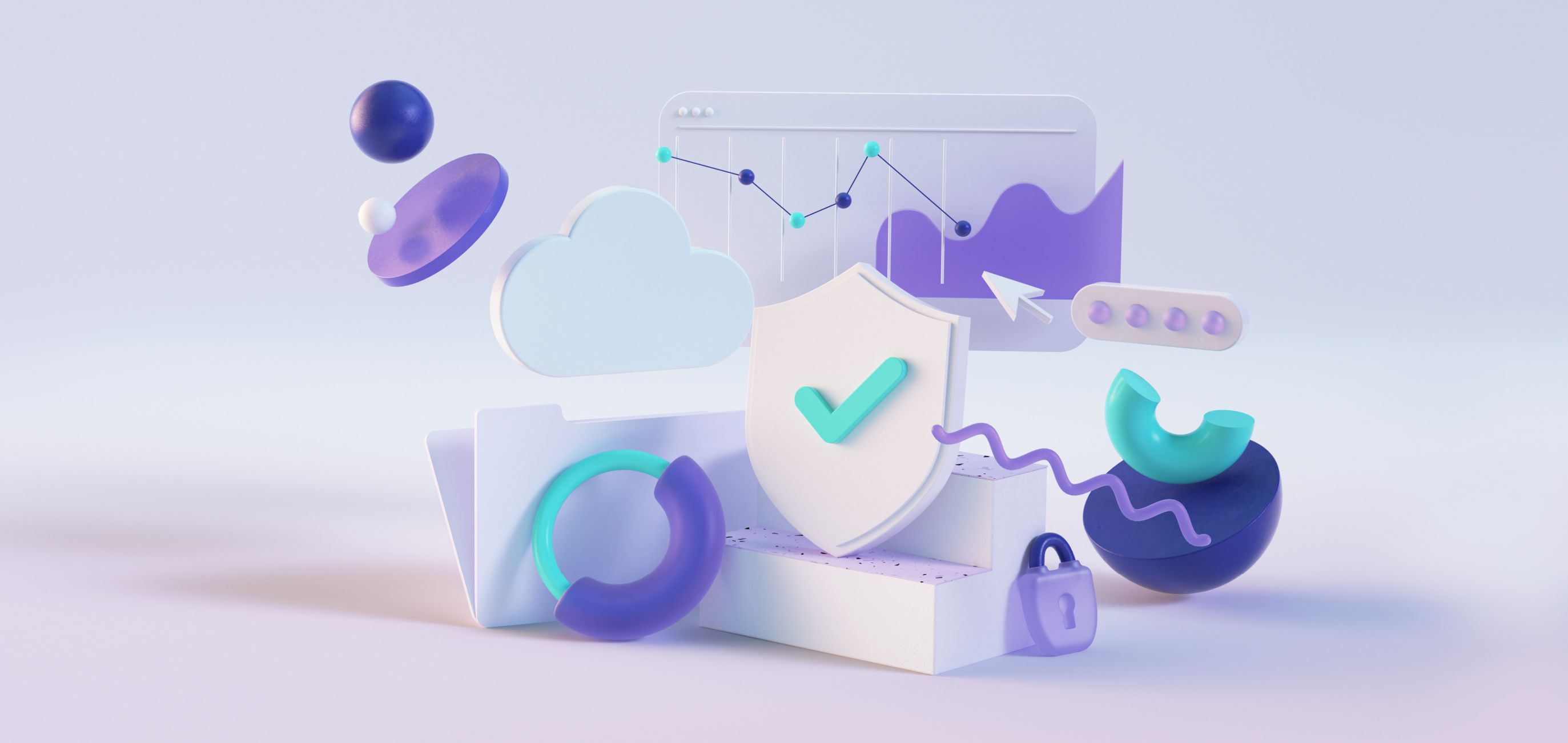 Cyber Insurance Academy graphic elements
