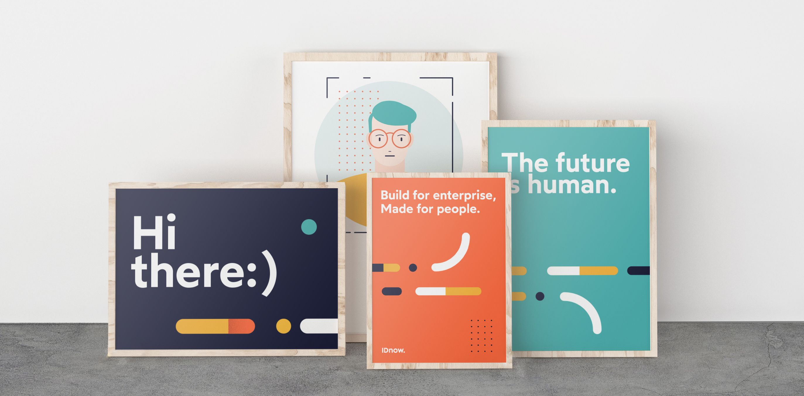 IDnow posters