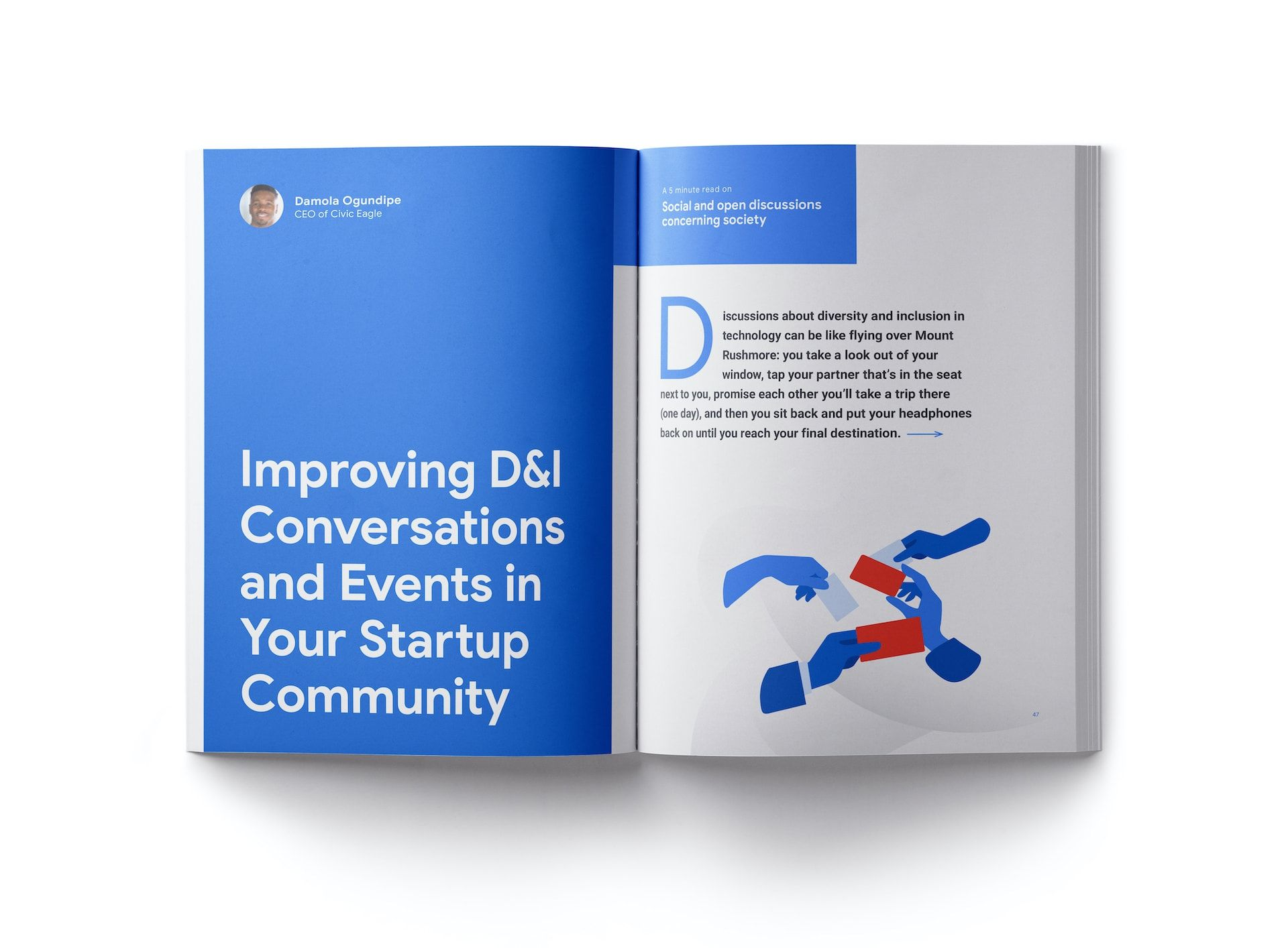 Google Inclusive Startup Communities — Tools for a Diverse World booklet