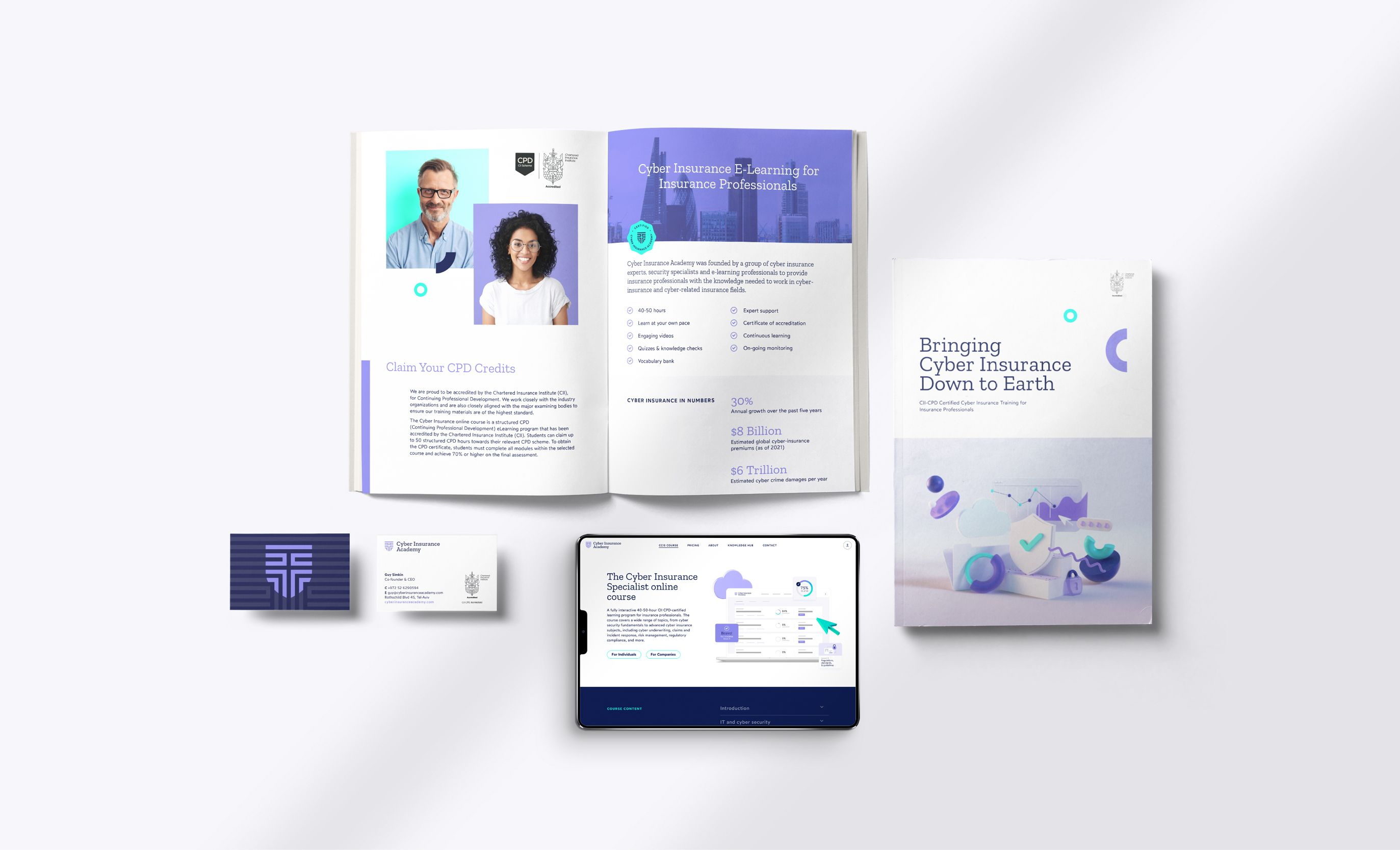 Cyber Insurance Academy collateral