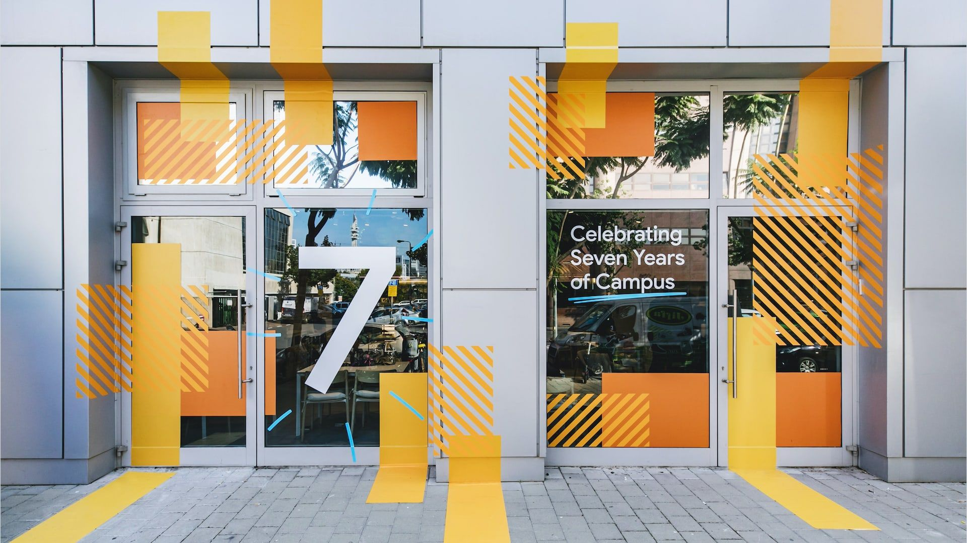 Google for Startups Campus Tel Aviv branded exterior
